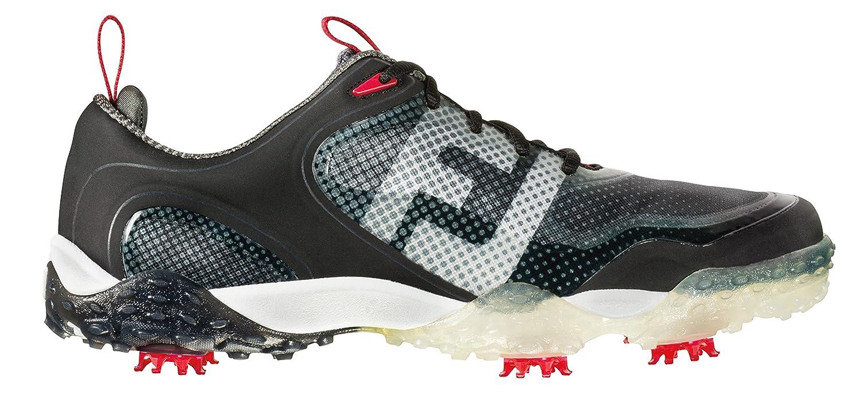 Footjoy Freestyle Men s Golf Shoes - Black White Grey  Amazon.co.uk  Shoes    Bags aa15c3825b1