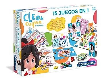 Clementoni Educación Infantil Cleo & Cuquin, (55246)