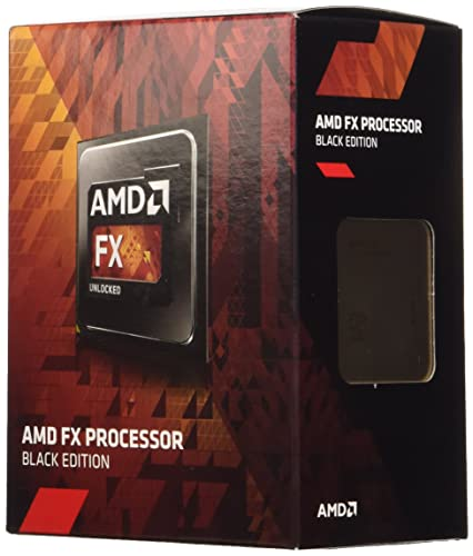 AMD FX4300 Black Edition 4 Core (3.8/4.0GHz, 8MB Level 3 Cache, 4MB Level 2 Cache, Socket AM3+, 95W, Retail Boxed)