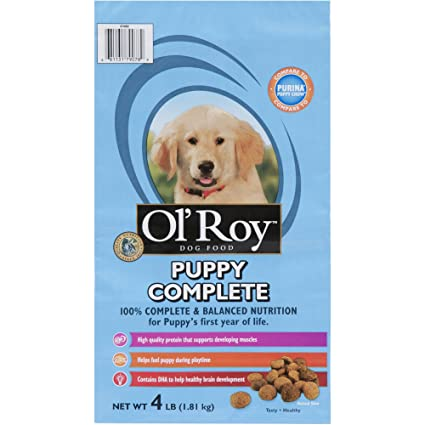 Amazoncom Ol Roy Puppy Complete Pet Supplies
