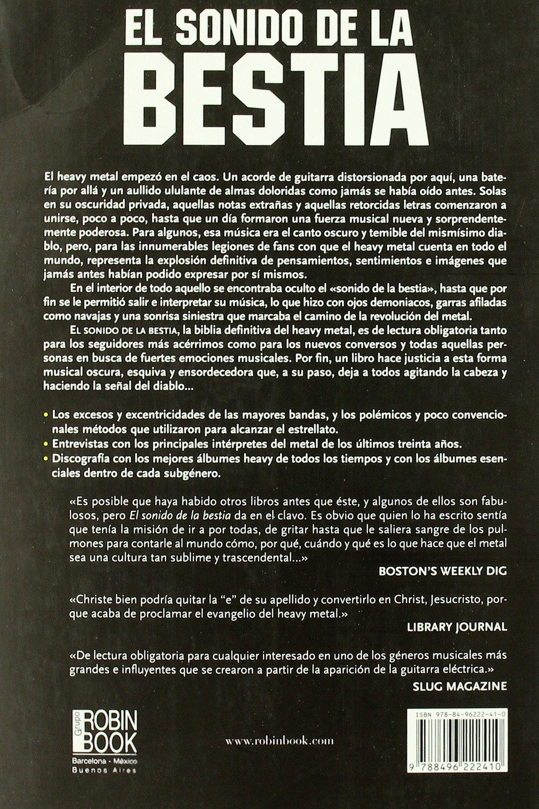 El Sonido De La Bestia / The Sound of the Beast (Ma Non Troppomusica ...