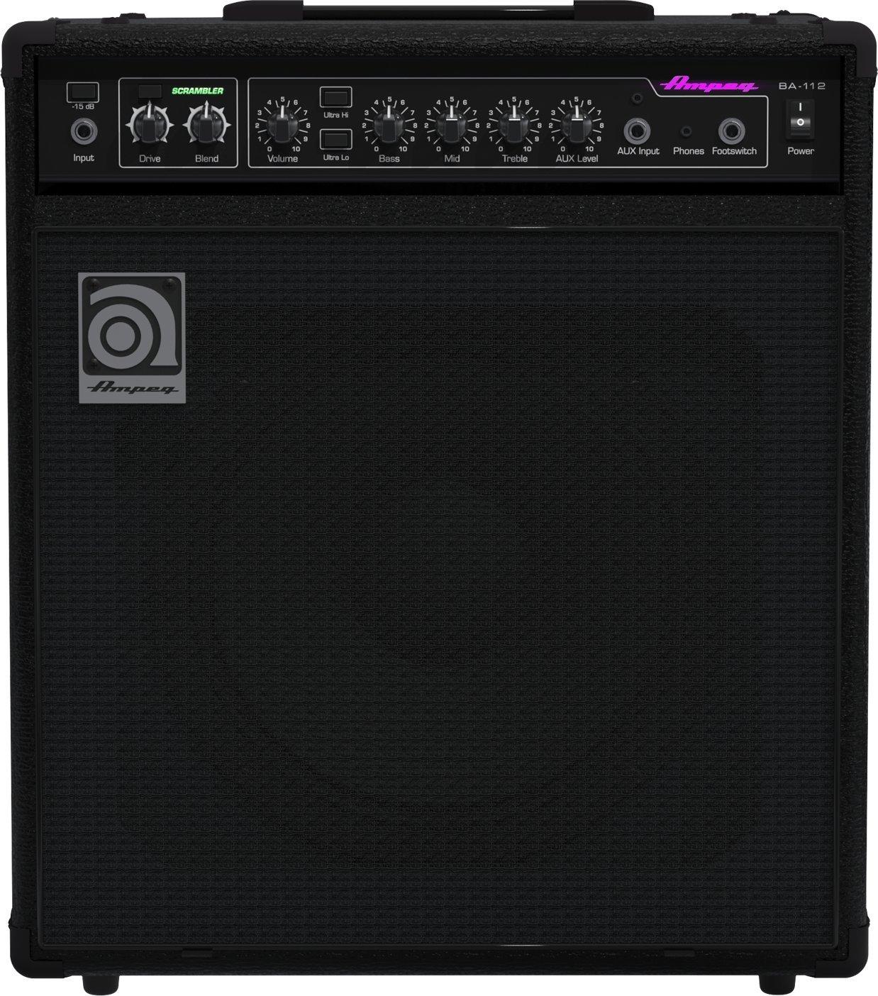 Ampeg BA112v2 1 x 12-Inch Combo Bass Amplifier