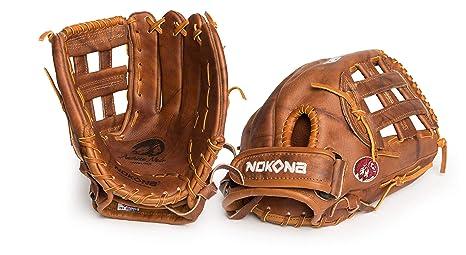 8af3e206baa94 Nokona Walnut H-Web 12 Inch W-V1200 Fastpitch Softball Glove