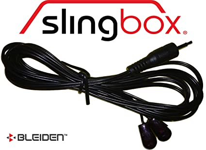 Slingbox IR Emitter/Infrared Blaster Cable for all Sling Models (2 Heads / Control