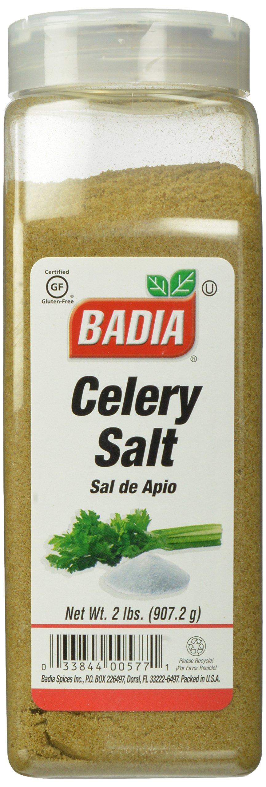 Badia Celery Salt, 2 Pound (Pack of 6) by Badia (Image #1)