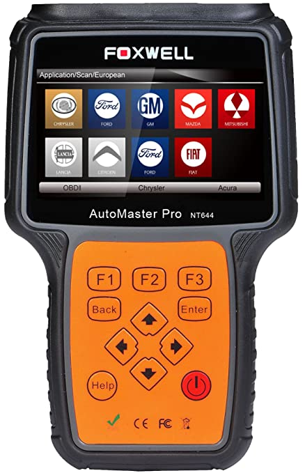 Bardzo dobra Amazon.com: FOXWELL NT644 PRO ALL SYSTEMS DIAGNOSTIC SCANNER CODE YR57