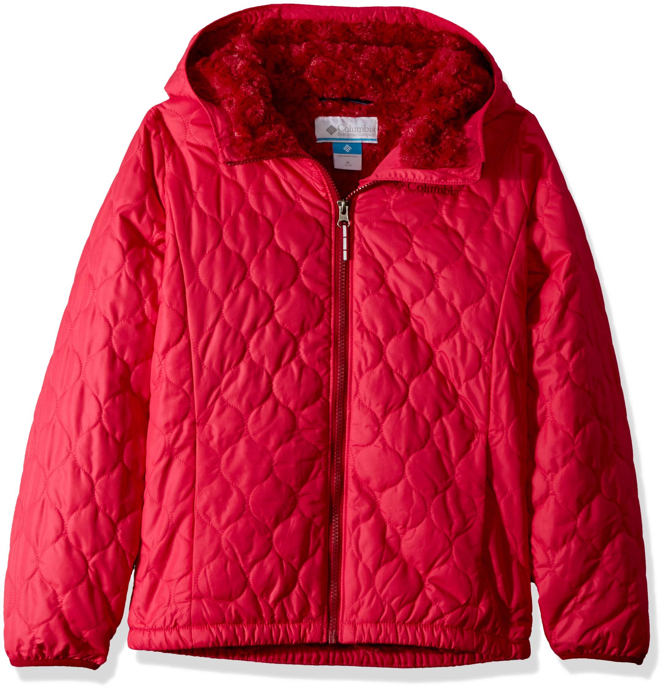 Columbia Girls' Little Bella Plush Jacket, Cactus Pink, XX-Small by Columbia