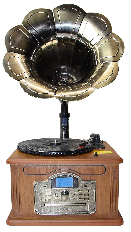 Nostalgie Retro Tocadiscos | Equipo estéreo | Minicadena ...