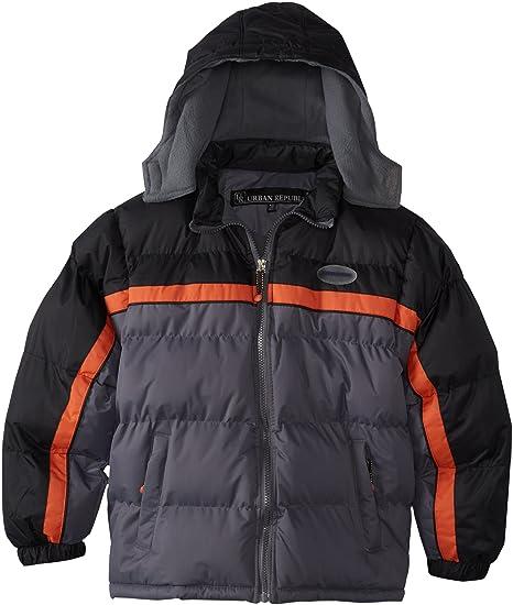 d07dd96e0aeb Amazon.com  Urban Republic Big Boys  Color Block Puffer Jacket