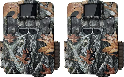 Browning Trail Cameras Strike Force Pro XD Dual Lens 24MP Game Camera 2-Pack