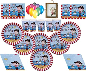 Pirate Party Supplies Fiesta Infantil Pirata Decoraciones de ...