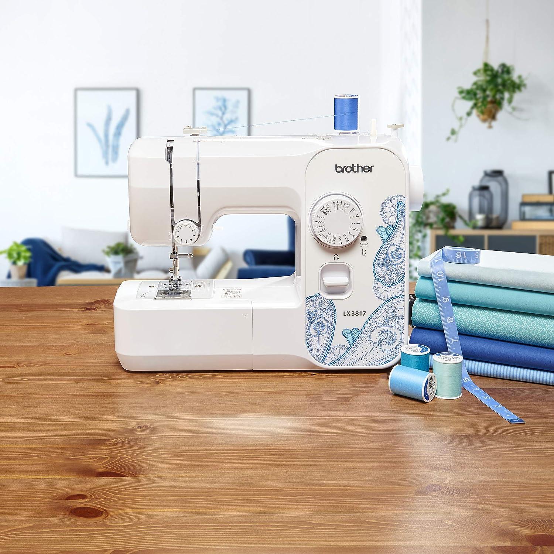 White Renewed Brother RLX3817 Full Size Sewing Machine