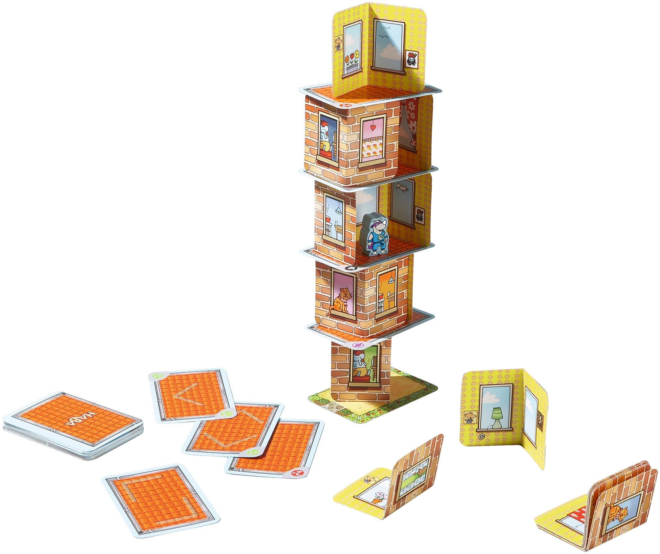 Comprar Haba - Juego de cartas  Rhino Hero, 2 a 5 jugadores (4092)
