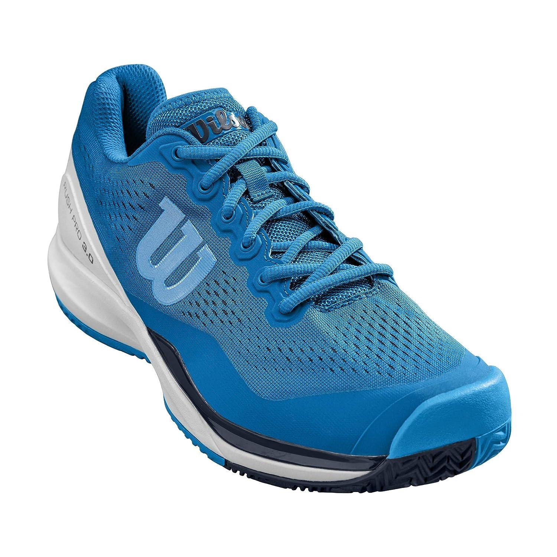 Bleu Blanc Bleu 41 EU WILSON Rush Pro 3.0, Chaussures de Tennis Homme