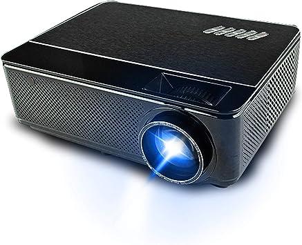 LIANGJING Proyector inalámbrico WiFi 1080P HD Sistema de Cine en casa Proyección 3D Sin Pantalla TV: Amazon.es: Electrónica