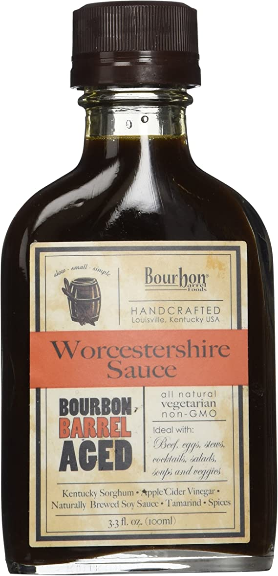 Bourbon Barrel Foods Handcrafted Worcestershire Sauce