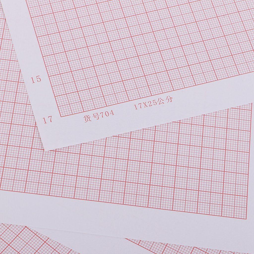 FutuHome 100 Pi/èces Format A4 Papier Millim/étr/é De Papier De Diagramme Calculent