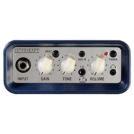 Amazon.com: Laney Mini-Lion 3W 1x3 Mini Battery Powered desktop Guitar Combo Amp Blue: Musical Instruments