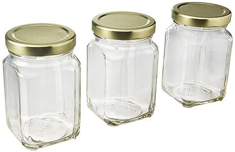 Amazoncom 12 Pack of 6oz Square Victorian Jars Bulk Value Pack