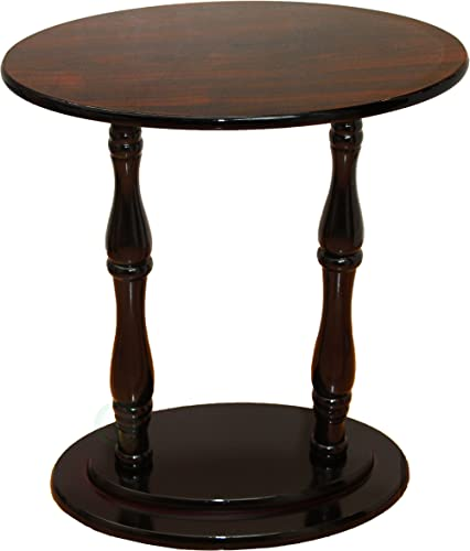 Uniquewise TM Oval Accent Side End Table