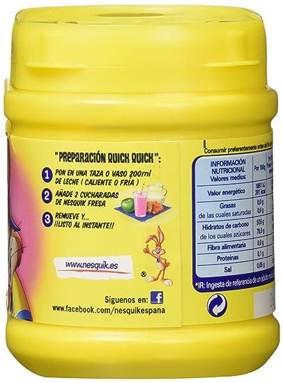 Nestlé Nesquik Fresa Batido Instantáneo Bote - 300 gr: Amazon.es: Amazon Pantry