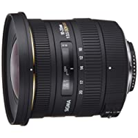 Sigma 10-20mm f3.5 EX DC HSM Lens for Nikon Digital SLR Cameras with APS-C Sensors