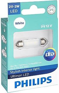 Philips 211-2 Ultinon LED Bulb (White), 1 Pack
