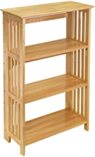 Winsome Wood 82427 Mission Shelving Natural