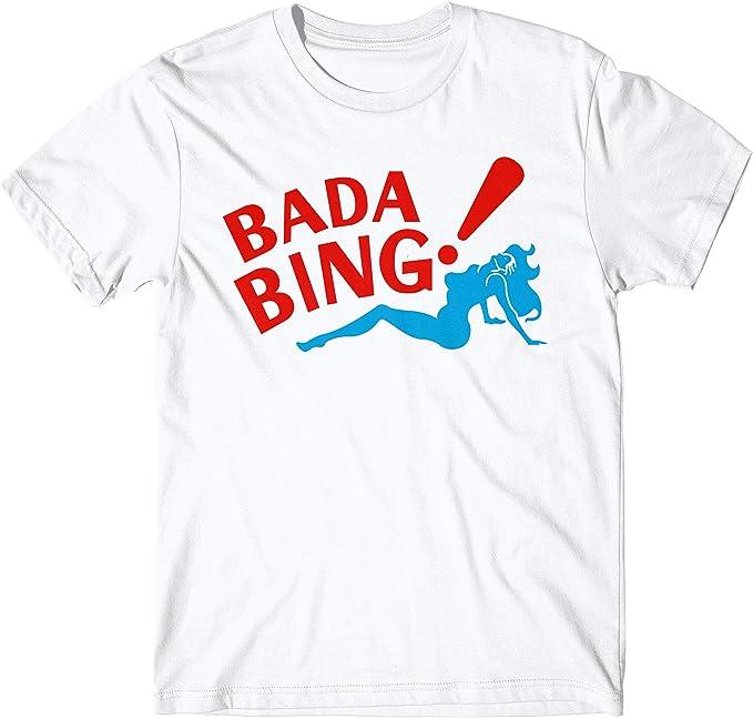 LaMAGLIERIA Camiseta Hombre Bada Bing Camiseta The Sopranos 100 ...