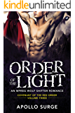 Order of the Light: M/M Wolf Shifter Mpreg Paranormal Romance (Covenant of the Red Order Book 3)