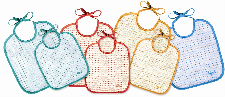 Tigex 80800532 de 0 a 6 meses multicolor Pack de 7 baberos