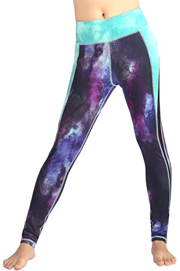 293c5efd335e6 Neonysweets Women's Printed Tights Active Workout Leggings Running Yoga  Pants S