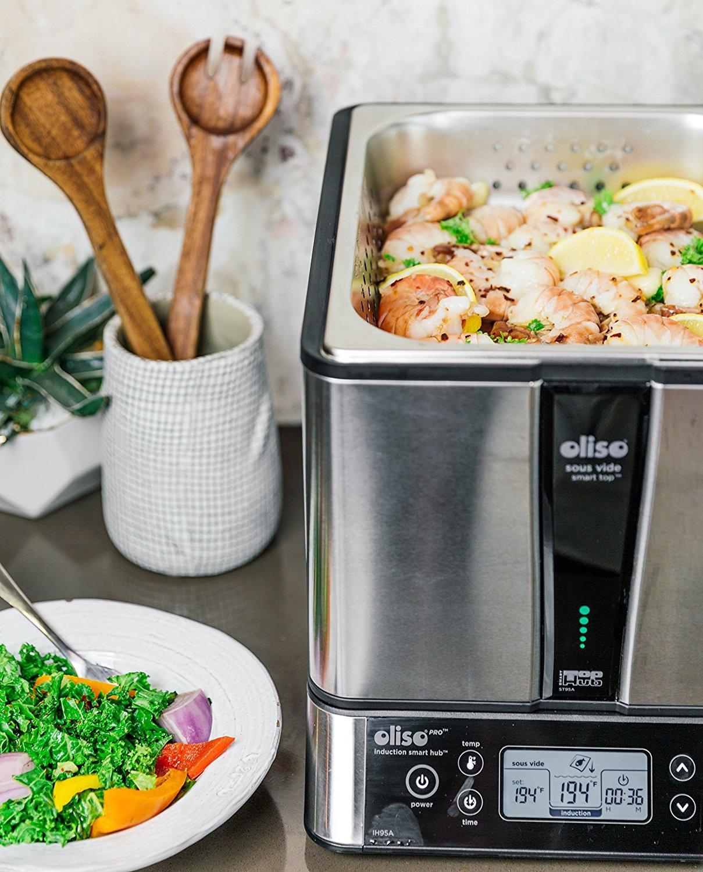 Amazon.com: oliso Pro 60001010 SmartHub inducción, SmartTop ...