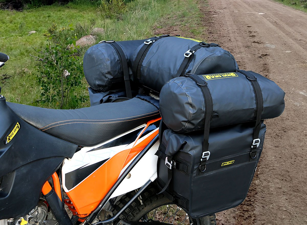 Nelson Rigg (SE-3050) Sierra Dry Saddlebags 100% Waterproof Mount to most Adventure and Dual Sport Motorcycles by Nelson-Rigg (Image #4)