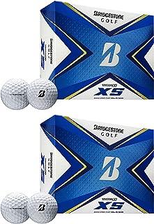 product image for Bridgestone Golf 2020 Tour B XS Reactive Urethane Distance White Golf Balls (2 Dozen)
