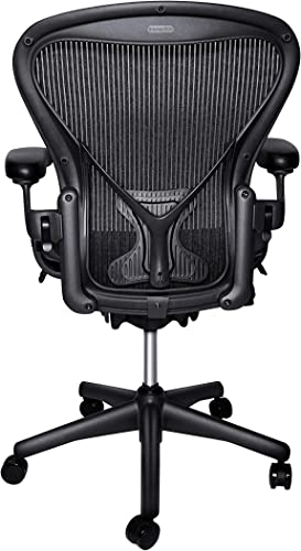 Herman Miller Classic Aeron Chair – Size B, Posture Fit Renewed