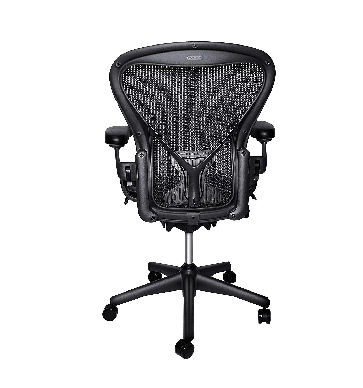Herman Miller Classic Aeron Chair – Size B, Posture Fit Renewed
