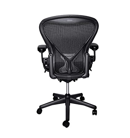 quality design 83cb2 f1e37 Herman Miller Classic Aeron Chair - Size B, Posture Fit (Renewed)