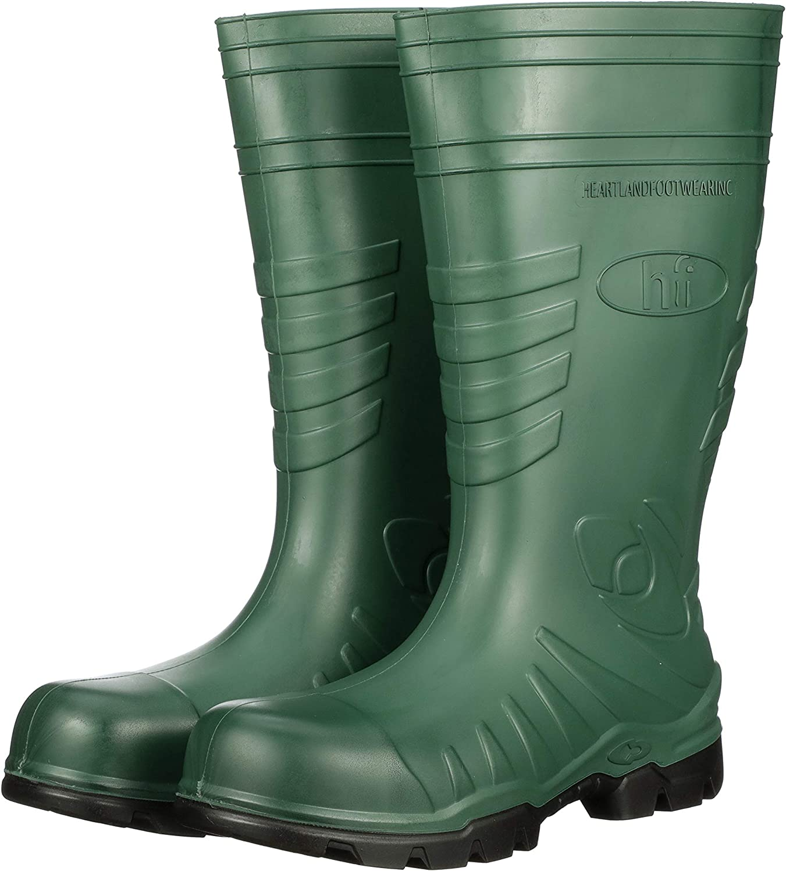 Heartland Footwear Green Poly Tuff