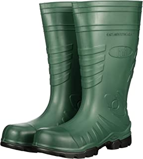 product image for Heartland Footwear Green Poly Tuff Polyurethane Waterproof Work Boot. Composite Toe, Slip-Resistant