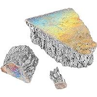 TKSE Bismuth Ingot, Bismuth Crystal, 1000g Bismuth Metal Ingot C-h-u-nk 99,99% Pure Crystal Geodes voor het maken van…