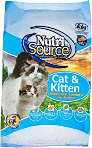 Tuffy'S Pet Food Nutrisource Salmon And Liver Formula Dry Cat Food