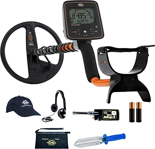 Whites TreasurePro Metal Detector Bundle w Bullseye II Accessories