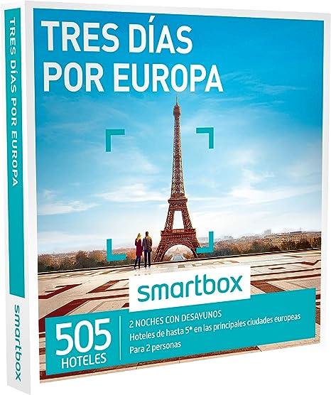 SMARTBOX - Caja Regalo - TRES DÍAS POR EUROPA - 520 hoteles de hasta 5* en principales ciudades de España, Europa, Marruecos y Túnez: Amazon.es: Deportes y aire libre