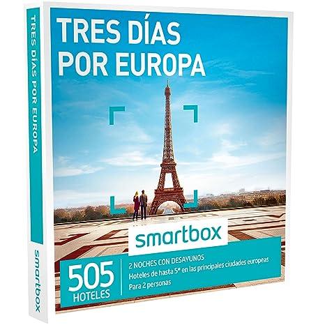 SMARTBOX - Caja Regalo - TRES DÍAS POR EUROPA - 520 hoteles de hasta 5*