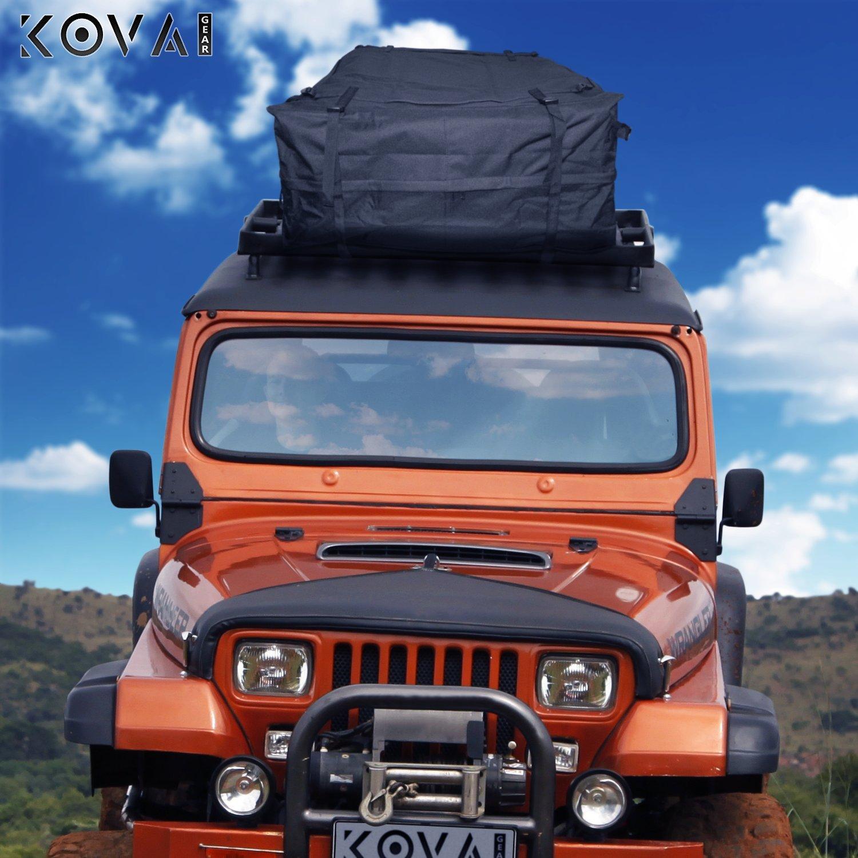 Kova Gear Rooftop Cargo Carrier Weatherproof Soft Bag (14.5 Cubic Ft Storage) by Kova Gear (Image #4)