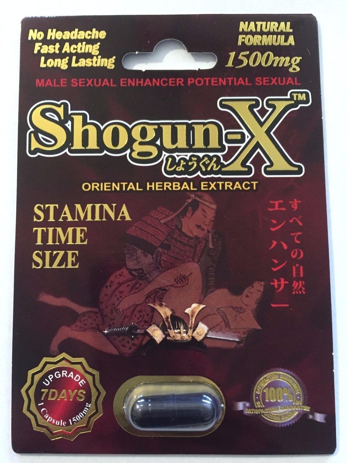 Shogun-x Premium Male Sexual Performance Enhancer (6)