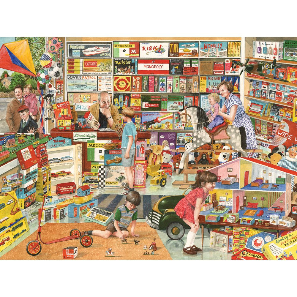 売れ筋商品 Bits and Pieces – 500ピースジグソーパズルfor Adults Tracy – Hall B079K61SGW Toy Shop 500 – 500 pcジグソーby Artist Tracy Hall B079K61SGW, DEVICE:ffb707c2 --- a0267596.xsph.ru