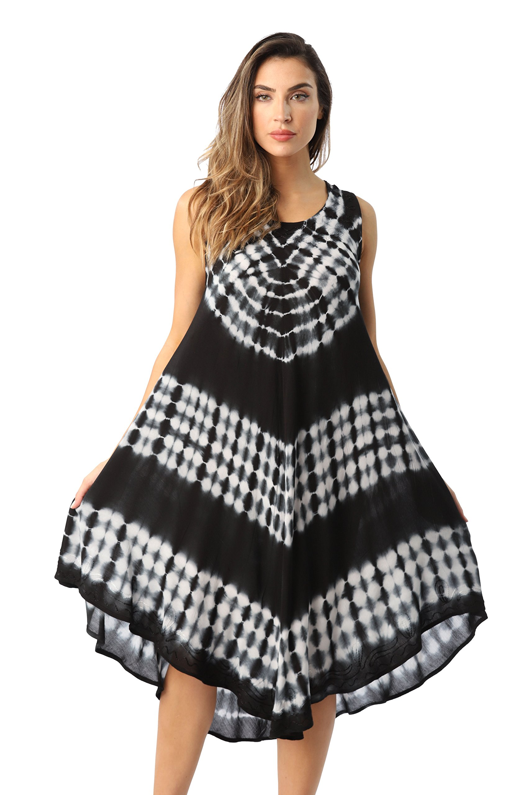 Riviera Sun 21802-BLK-L Dress Dresses For Women