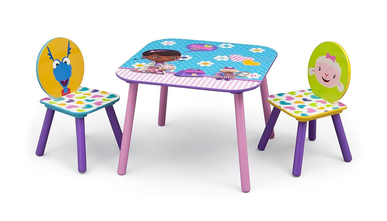 Wonderful Doc Mcstuffins Table And Chair Set Part - 6: Disney Doc Mcstuffins Table And Chair With Metal Brack (Purple):  Amazon.co.uk: Baby